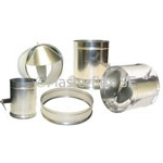 FL, FLD, FLDE Spin Collar Fitting for Sheet Metal